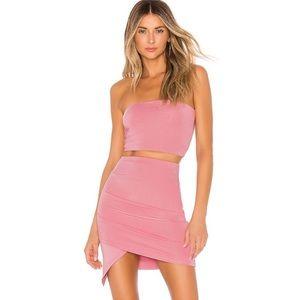 Super down revolve Lafonda strapless mini dress